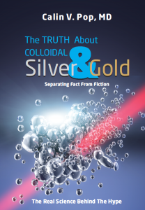 Colloidal silver and gold